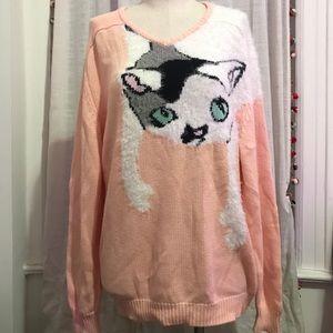NWT! Wildfox Cat Sweater XS!